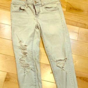 American Eagle super stretch x size 4 Jeans